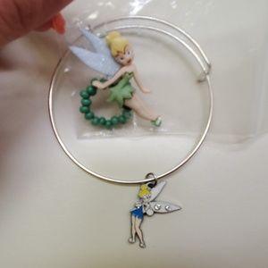 Disneys Tinkerbell ring and bracelet BRAND NEW